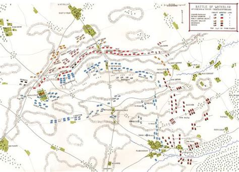 battle of waterloo map 89 best images about battle s maps on