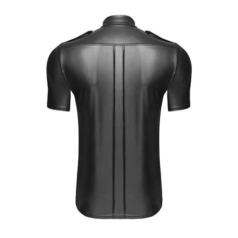 Noir Handmade - noir handmade wetlook shirt matt