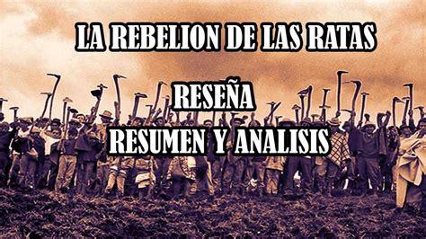 la rebelin de las 8467033533 la rebelion de las ratas de fernando soto aparicio