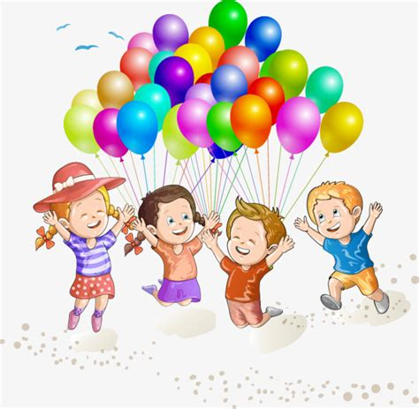 imagenes de niños jugando y compartiendo playa ni 241 os jugando con globos vector material playa