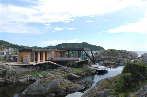 Island House by Tucked Away Island House On Stilts Is Only