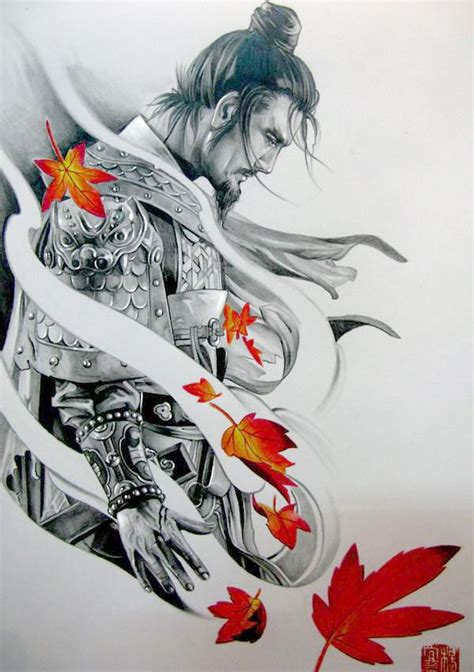sketch samurai tattoo pinterest love the tatoo and