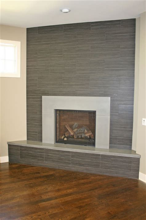 modern fireplace hearth concrete fireplaces