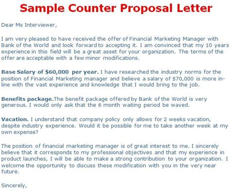 counter offer letter lettering job board letter templates