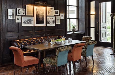 soho design house erin mcdonald design 187 gallery art walls in soho house globally