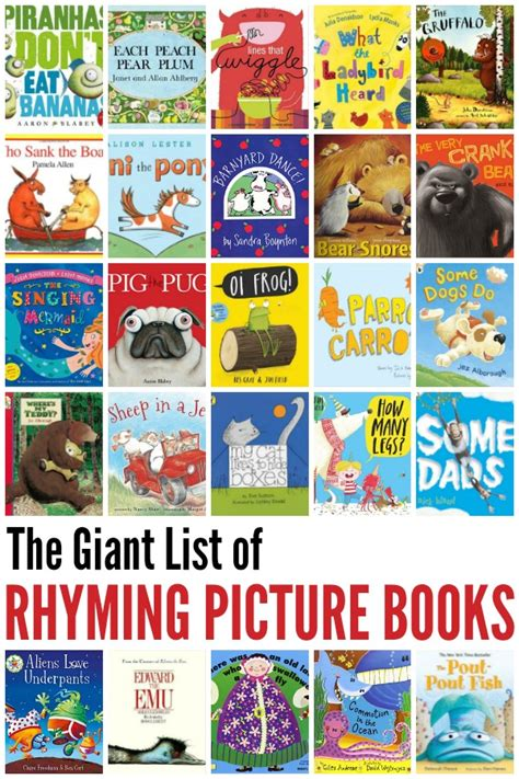 picture books for teenagers best rhyming books for childhood101