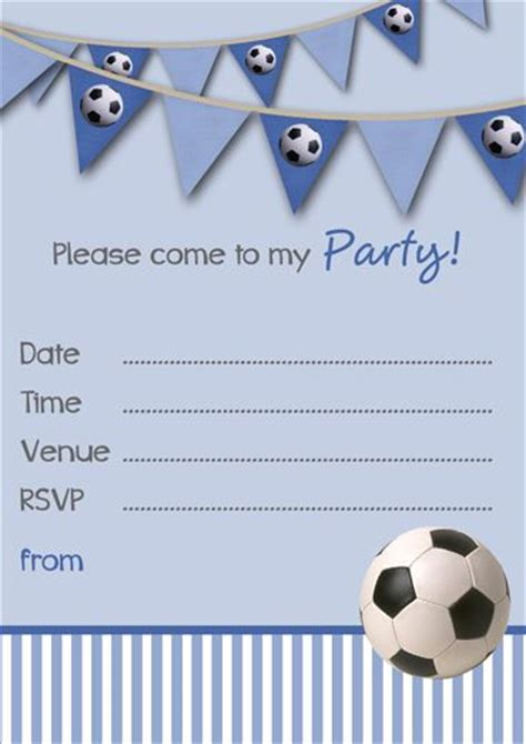 boys birthday invitations templates free 127 best soccer images on futbol soccer