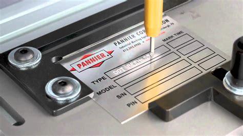 tag engraving machine metal tag sting and engraving machine