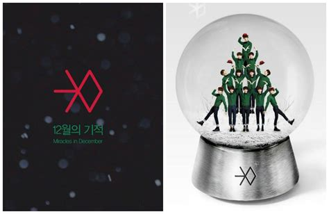 kpop news exo s miracles in december immediately ranks exo giving fans miracles in december with new music