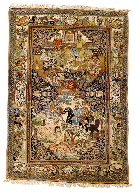 Mohtashem Pictorial Rugs Pictorial Rugs