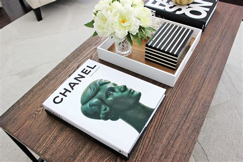 Coffee Table With Books Am Dolce Vita Stylish Black White Coffee Table Books