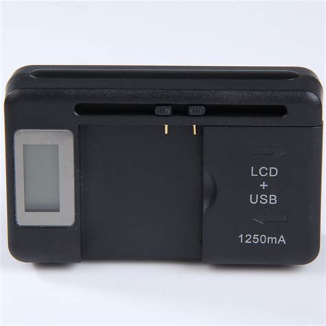 Lcd Usb Charger universal lcd usb charging dock us battery charger