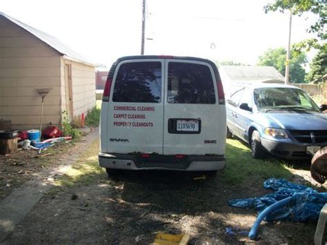 airbag deployment 1998 gmc savana 1500 transmission control sell used 1998 gmc savana 1500 base standard cargo van 3 door 4 3l in lincoln illinois united
