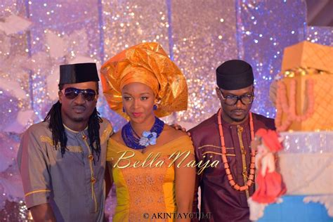 Weddings Exclusive Paul Okoye Of P Square Anita Isamas | exclusive paul okoye of p square anita isama s