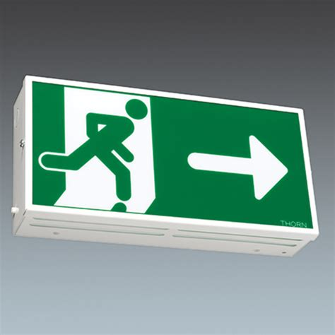 exit sign light box led exit signs watts ledx101 tl20 thin line diecast led