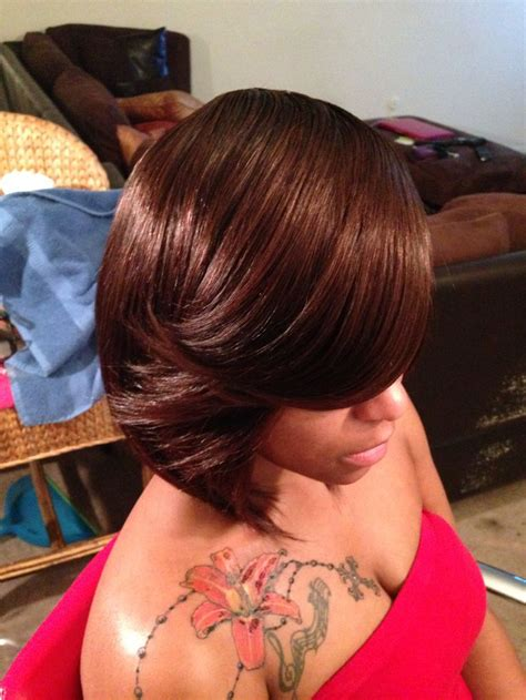 layered bob style sewins bob cut full sew in gorgeous hair styles hair color