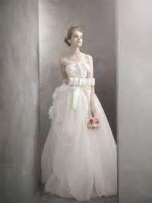 vera wang wedding dress white by vera wang wedding dress onewed