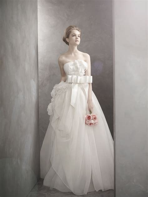 romantic by vera wedding dress onewed com