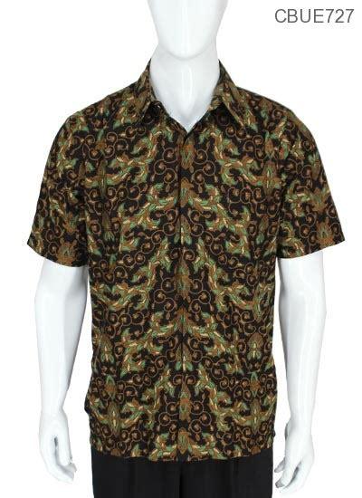Kemeja Batik Baturaden M kemeja pendek batik baturaden motif girang teki kemeja