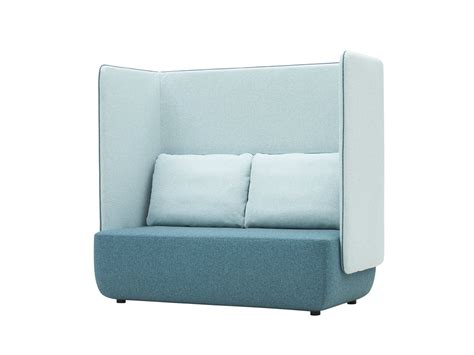soft line sofa felt sofa opera 2 seater sofa spirit collection by