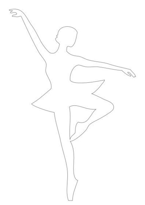 pin ballerina printable cake on pinterest