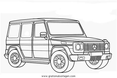 G Wagon Sketches mercedes g gratis malvorlage in autos2 transportmittel