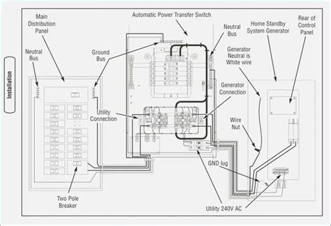 generac 200 transfer switch wiring diagram