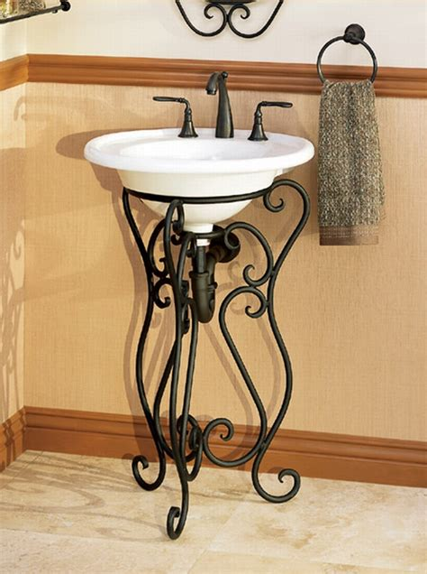 Wrought Iron Bathroom Vanities by Perfection Beautiful Wrought Iron