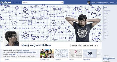 creative biography for facebook 40 creative exles of facebook timeline designs