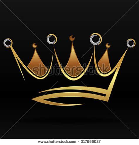 vector crown logo design abstract logo template vector golden crown vector stock vector 130860776 shutterstock