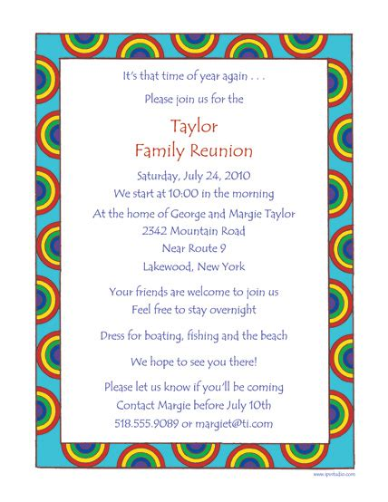 Invitation Letter Format For Reunion Family Reunion Template Frt 02