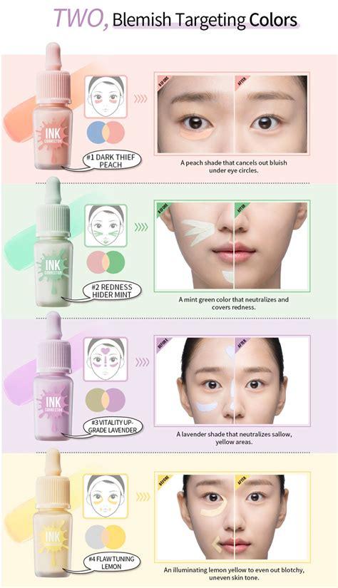 color corrector peripera ink corrector color correcting makeup base