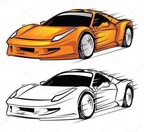cartoon sports car view personnage de dessin anim 233 de voiture de sport livre 224
