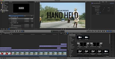 final cut pro bittorrent cineflare hand held for final cut pro x mac torrents