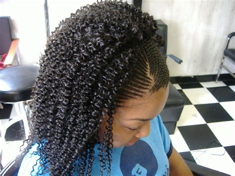 cornrows on side sew in in back sew in question black hair media forum