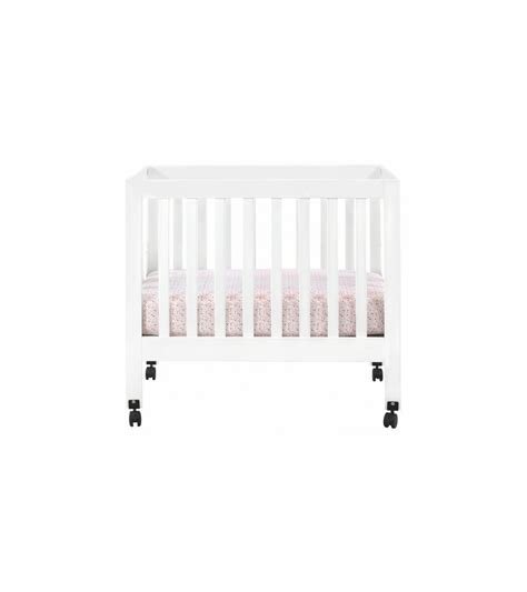 Babyletto Origami - babyletto origami mini crib in white
