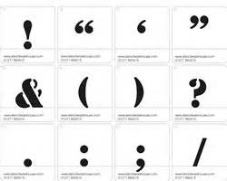 Kitchen Wallpaper Designs Buy These 10 Inch Punctuation Symbol Stencils Online Now