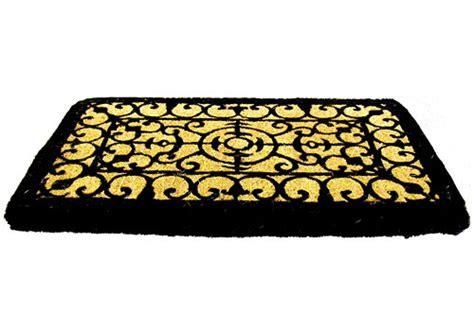 Fleur De Lis Doormat by Decorative Coir Doormat Fleur De Lis In Doormats