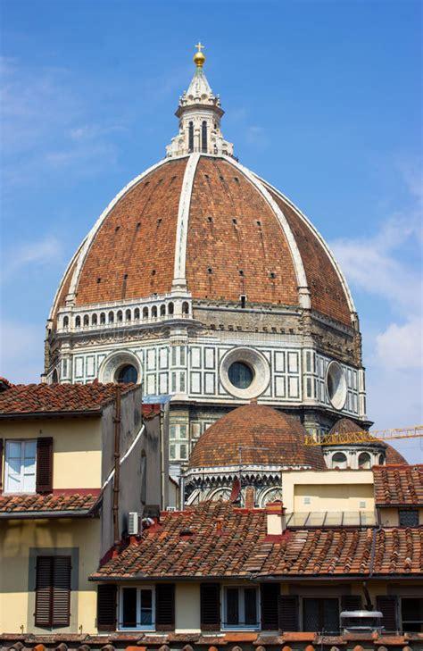 la cupola di brunelleschi cupola di firenze di brunelleschi fotografia stock