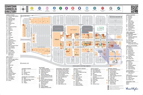 Attic Area by Downtown Summerlin Mall Eat Shop Play 2017 Map Hours