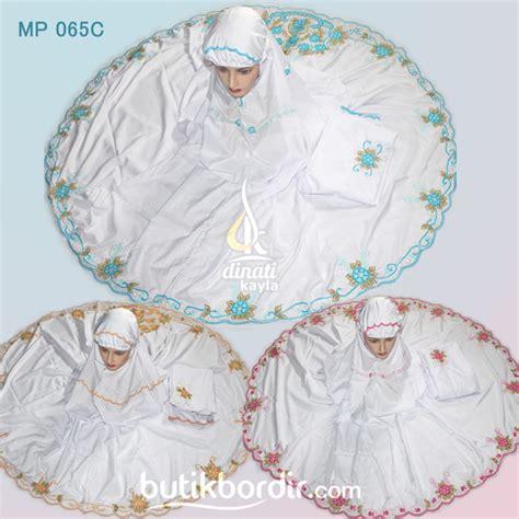 Mukena Al Gani Merak Pink butik bordir jual kerajinan bordir kudus grosir dan eceran
