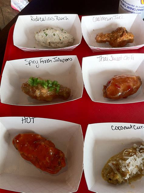 round wing flavors review of 19 different unique wing flavors st louis