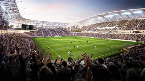 new renderings revealed for los angeles football club