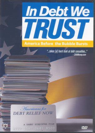 in debt we trust america before the bubble bursts dvd peace resource project