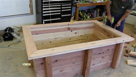 diy raised bed frame how to make a raised garden bed diy projects with pete