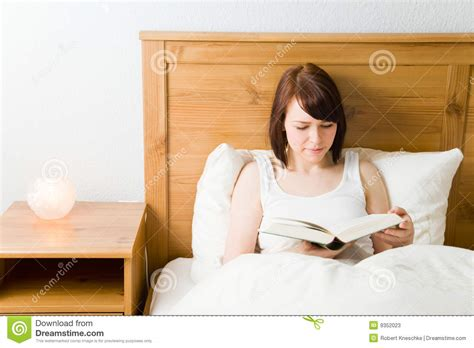 reading in bed reading in bed stock photos image 9352023