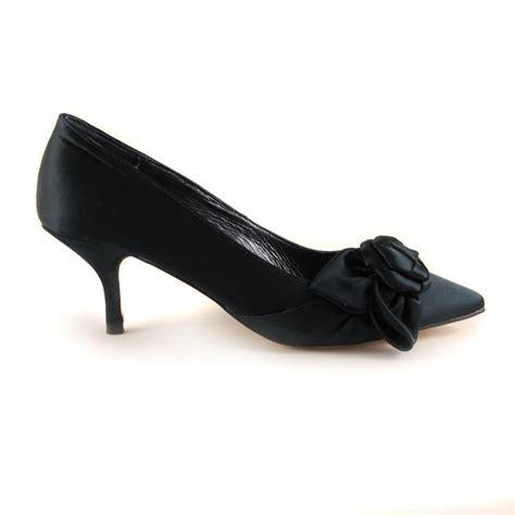 kitten heel shoes buy menbur satin navy kitten heel court shoe
