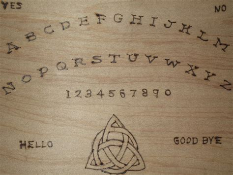 How To Make A Ouija Board Out Of Paper - made ouija board up free stock photo