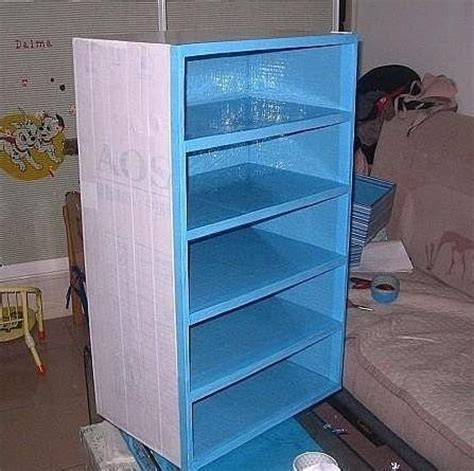 Sundeen Furniture by Diy Cardboard Box Shoe Cabinet House Remodeling