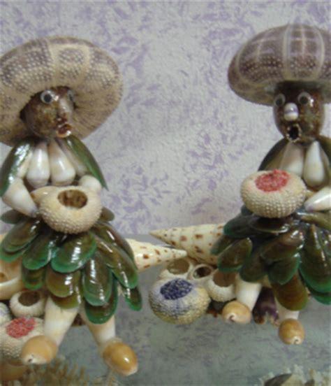 Kerang Di Pasar kerajinan kulit kerang